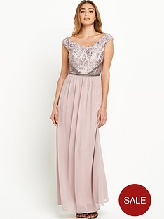 little-mistress-little-mistress-v-neck-embellishednbsptop-maxi-dress