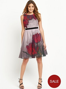 little-mistress-little-mistress-floral-placed-print-skater-dress