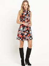 South Turtle Neck Tunic Dress