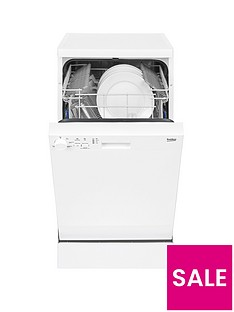 Beko DFS05010W 10-Place Slimline Dishwasher - White