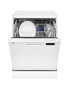Beko DFN16210W 12-Place Dishwasher with Basket Flexibility - White