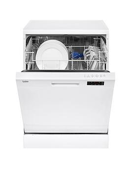 Photo of Beko dfn16210w 12-place dishwasher with basket flexibility - white