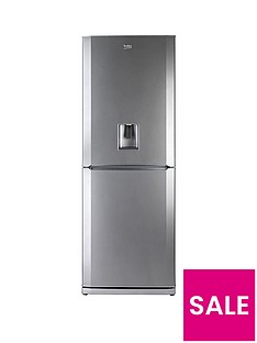 beko-cfdl7914s-70cm-fridge-freezer-with-non-plumbed-water-dispenser-silver