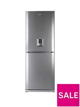 beko-cfdl7914s-70cm-fridge-freezer-with-non-plumbed-water-dispenser-silver