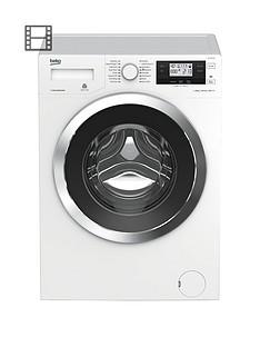 Beko WY104764MW 10kg Load, 1400 Spin Washing Machine - White