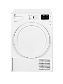 Beko Dhy7340W 7Kg Condenser Dryer With Heat Pump - White