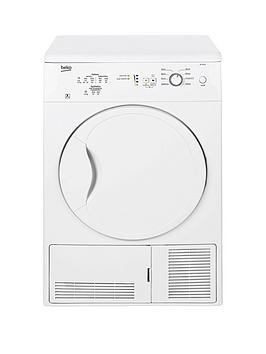 Beko Dc7112W 7Kg Condenser Dryer – White