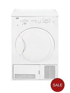 beko-dc7112w-7kg-condenser-dryer-next-day-delivery-white
