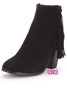 glamorous-tasselampnbspblock-heel-ankle-boots