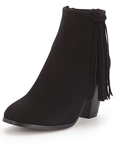 glamorous-tasselnbspblock-heel-ankle-boots