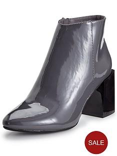 glamorous-patent-block-heel-ankle-boot