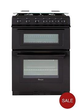 swan-sx2060b-60cm-gas-double-oven