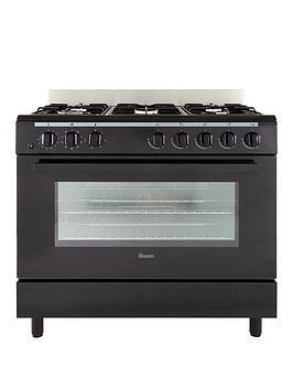 swan-sx2040-90cm-dual-fuel-range-cooker-black