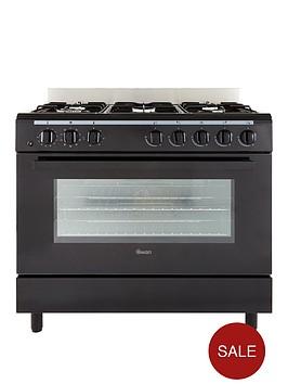 swan-sx2040-90cm-duel-fuel-range-cooker-black