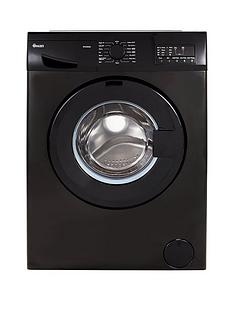 Swan SW2062B 8kg Load, 1200 Spin, Washing Machine - Black