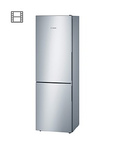 Bosch Serie 4 KGV36VL32G 60cm Fridge Freezer - Stainless Steel
