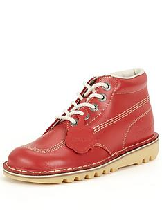 kickers-kick-hi-red-ankle-boot