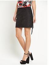 Glamorous Side Tassel Mini Skirt