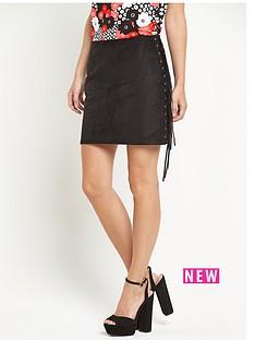 glamorous-glamorous-side-tassel-mini-skirt