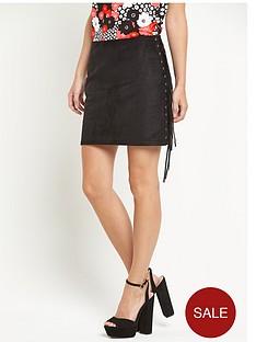glamorous-side-tassel-mini-skirt