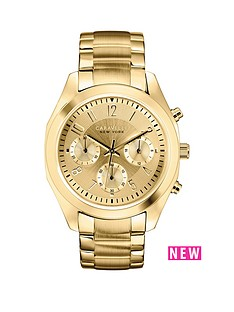 caravelle-new-york-caravelle-new-york-chronograph-yellow-gold-ip-stainless-steel-bracelet-ladies-watch