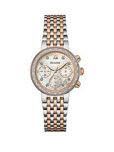 bulova-full-diamond-set-chronograph-two-tone-stainless-steel-bracelet-ladies-watch