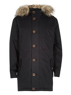 river-island-boys-traditionalnbspparka-coat-with-faux-fur-trim-hood