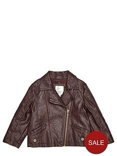 river-island-mini-girls-berry-pu-biker-jacket