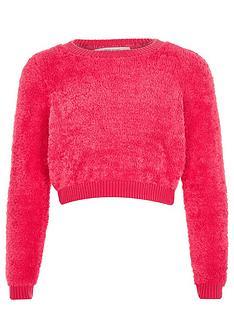 river-island-girls-teddy-jumper-pink