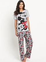 Minnie And Mickey PJ Set
