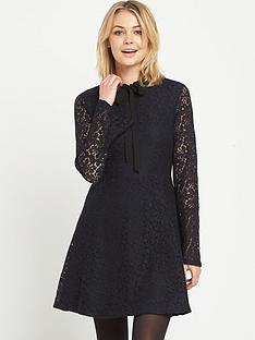 warehouse-lace-pussybow-dress
