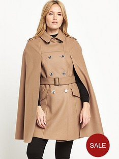 warehouse-longline-belted-cape