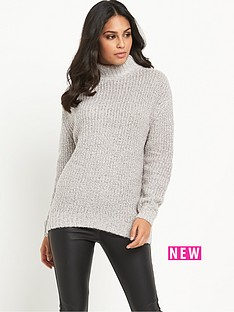 warehouse-sparkle-tweed-jumper