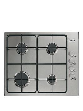 zanussi-zgg62444sa-built-in-hob-stainless-steel