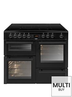beko-bdvc100knbsp100cmnbspelectric-range-cooker-black