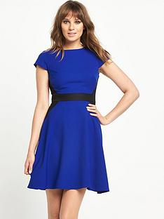 south-petite-contrast-mix-and-match-skater-dress
