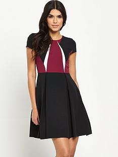 v-by-very-tall-colour-block-skater-dress