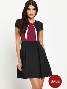 v-by-very-tall-colour-block-skater-dress