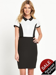 v-by-very-petite-collared-2-in-1-dress