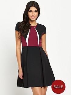 v-by-very-petite-colourblock-skater-dress