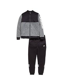 adidas-adidas-youth-boys-linear-logo-track-suit
