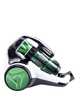 hoover-synthesis-st71-st01001-bagless-cylinder-vacuum-cleaner-whiteblackgreen