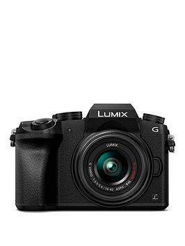 panasonic-dmc-g7-keb-k-compact-system-camera-with-14-42mmnbspoisnbsplens-4k-photo-4k-video-16mp-4x-digital-zoom-wi-fi-ampnbspolednbspviewfinder-blacknbsp