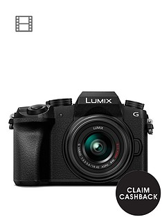 panasonic-dmc-g7-keb-k-compact-system-camera-with-14-42mmnbspoisnbsplens-4k-photo-4k-video-16mp-4x-digital-zoom-wi-fi-olednbspviewfinder-ampnbsp3-tilt-screen-display