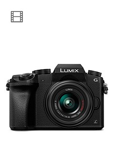 panasonic-dmc-g7keb-k-compact-dslr-mirrorless-camera-with-14-42mm-lens-black