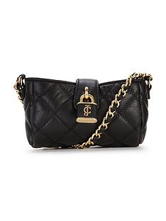 juicy-couture-quilted-leather-mini-phone-cross-body-black