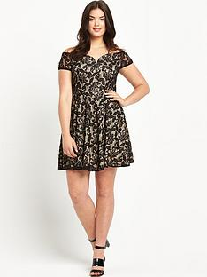 ax-paris-curve-curve-sweetheart-skater-dress