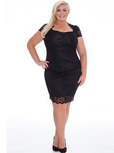 gemma-collins-lace-dress