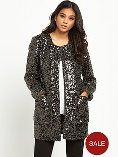 pinko-sequin-cardigan