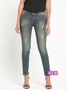pinko-fujico-stud-detail-jeans-blue